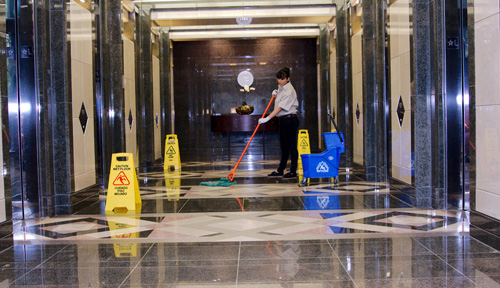 Commercial Janitorial and Cleaning Services - Daytime Cleaning Services