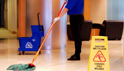 Commercial Janitorial and Cleaning Services - Janitorial Services
